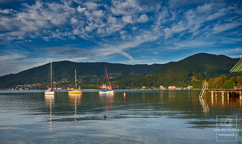 Boote am dem Tegernsee Copyright © Gerlind Schiele Photography +49 (0) 170 - 908 85 85